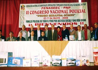 II CONGRESO NACIONAL - FENAPOL PERÚ