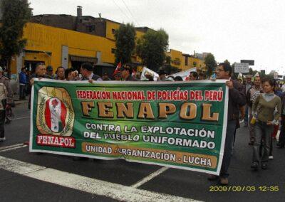 Marchas a nivel nacional